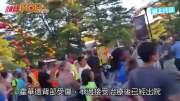 美遊樂場女童懸吊25呎  遊客叫放手地面接住