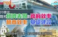 (港聞)全球競爭力香港蟬冠  創科表現僅第7