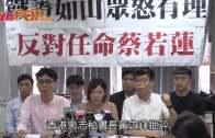 團體反蔡若蓮出任教局  憂港教育赤化洗腦