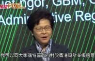 林鄭預告支援設計業  邱騰華:十一旅客微升