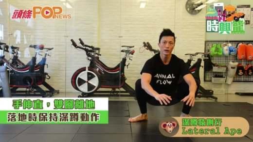 輕鬆三招鬆筋骨懶人包  Animal flow健身術