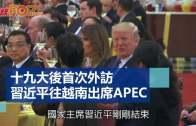 十九大後首次外訪  習近平往越南出席APEC