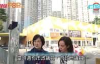 葉劉拍片巡南區商場 「地契需有議員辦事處」