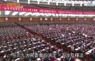 人大常委會下周三表決  譚惠珠:一地兩檢不涉釋法