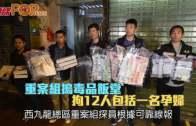重案組搗毒品飯堂  拘12人包括一名孕婦