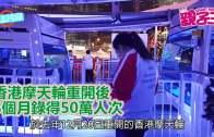 【3月12日親子Daily】  香港摩天輪重開後 3個月錄得50萬人次