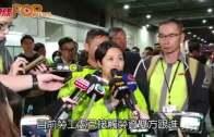 林鄭:政府關注事件  九巴有改善空間