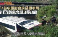 11名中國遊客埃及遇車禍  小巴掉進水塘3死8傷