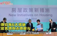 林鄭宣佈6大措施 居屋售價與市價脫勾