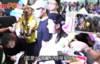 阿嬌與老公˝黑白配˝抵港 賴弘國:她是滿分太太!