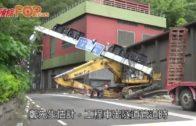 挖泥車疑撞塌「龍門架」獅隧出九龍全線封閉