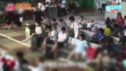 湖北男車站充電玩手機 冒濃煙起火燒足3分鐘
