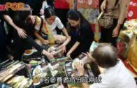 美食博覽會展開鑼  鬥搶$1鮑魚$1月餅