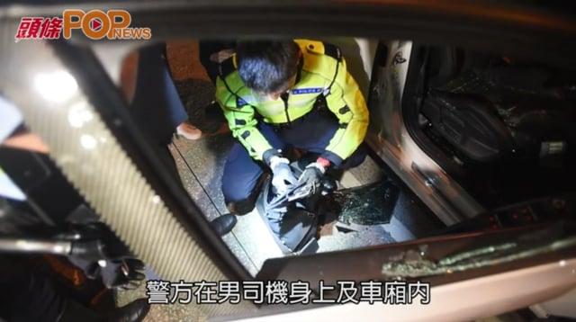 毒品快餐車狂飆3公里  警車追截擎槍拘捕2男