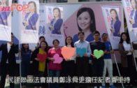 陳凱欣宣佈參選  支持者喊「欣為您突破界限」