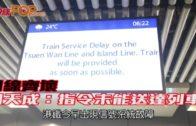 四線齊壞 劉天成:指令未能送達列車
