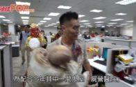 劉鳴煒男神變身鬼醫生 「哈囉喂」抱怪嬰到處嚇人