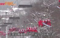 300聖誕老人 緬因州小鎮滑雪籌款