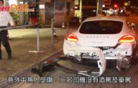 平治石硤尾街收掣不及 三名車串燒