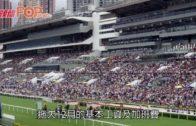 遭外判拖糧300萬 逾百工人馬會會所地盤示威