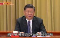 習近平發表兩岸關係講話 探索統一台灣方案