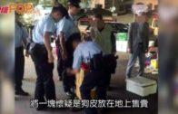 內地漢元朗擺檔賣懷疑狗皮 被警方拘捕