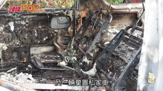 粉嶺塘坑村兩私家車焚毀 起火原因有可疑