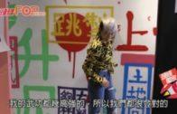 陳鈺芸由街打到入車廂  首與張晉拍打戲成身傷