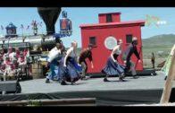華工鐵路150周年實錄系列報道(四)美國橫貫鐵路完工150周年紀念活動:主題是團結合一的餘興表演節目