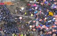 林鄭會見傳媒 稱無話過示威者是暴徒