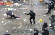 612金鐘大衝突 多警圍毆一示威者