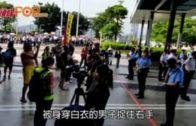 港台記者遭撐警人士捉住 多個傳媒組織譴責