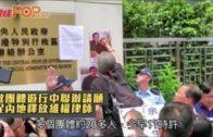 數團體遊行中聯辦請願  促內地釋放維權律師