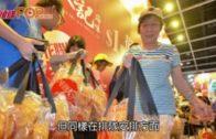 「美食博覽」會展開幕  逾百人排隊玩扒花膠