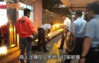 將軍澳尚德邨「連儂隧道」 兩男打架齊被捕