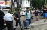 黎智英寓所遭擲汽油彈 警追緝兩男