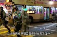 陳克勤贊成休班警獲警棍 涂謹申憂損警民關係