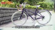 咖啡粉囊回收之鋁  製時尚環保單車