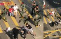 油麻地爆發激烈衝突 有警員發射兩槍實彈