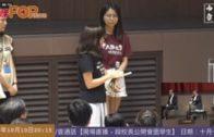 中大女生勇敢除口罩 哀求校長與學生同行