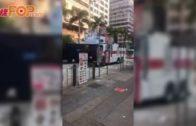 毛漢與譚文豪等人 到警總投訴濫用水炮車