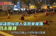 區議會候選人張贊華被捕 仍未獲釋