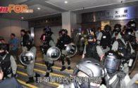 逾百防暴警東區法院戒備 藏汽油彈案獲釋被告再被捕