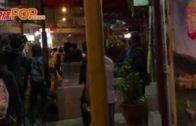旺角入夜街頭衝突惹混亂  疑似黑社會隨街斬人