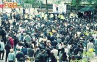 廣告界遮打花園集會  發起罷工5天