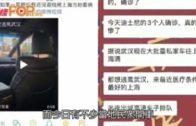 武漢有市民開車逃離 封閉多條高速公路