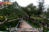 侯志強派5000口罩 人龍繞出公園