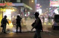 防暴警旺角截查多人 有人在山東街縱火
