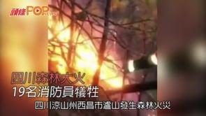 四川森林大火  19名消防員犠牲