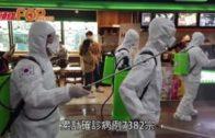 南韓新增248宗確診 官方稱疫情放緩